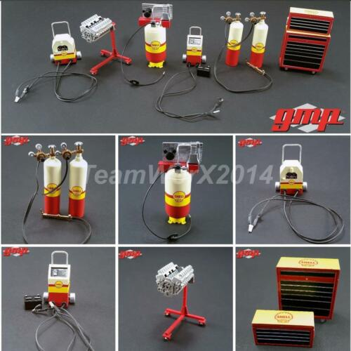 GMP 18869 Shell Oil Shop Diecast Metal Tool Set 1:18 NEW!!!