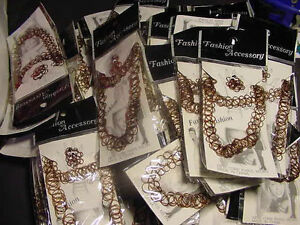 WHOLESALE LOT OF 12 SETS TATTOO JEWELRY JEWLRY RINGS tatoo Necklace ...