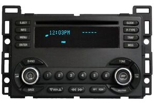 Details about Chevrolet Chevy Radio Stereo CD Disc Player 15890525 UN0  Receiver AM FM OEM GMC