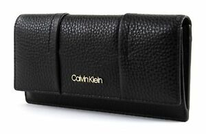 Calvin-Klein-City-Leather-Trifold-W-Coin-S-Black