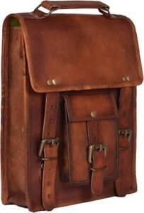 New-Vintage-Leather-Men-039-s-Handmade-Carry-Laptop-Shoulder-Satchel-Messenger-Bag