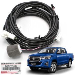black camera wire harness plug black fits toyota hilux revo sr5 2015 2016 Toyota Hilux Revo