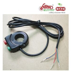 Horn-Speaker-Switch-and-Headlight-Button-for-ebike-Electric-Scooter-Bicycle-Bike