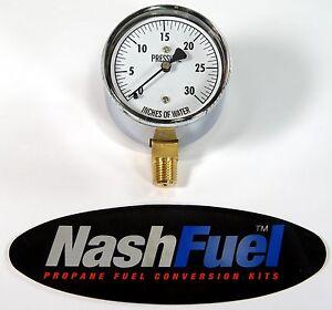 LOW-PRESSURE-WATER-COLUMN-GAUGE-0-30-034-WC-PROPANE-NATURAL-GAS-1-4-034-NPT-1-PSI