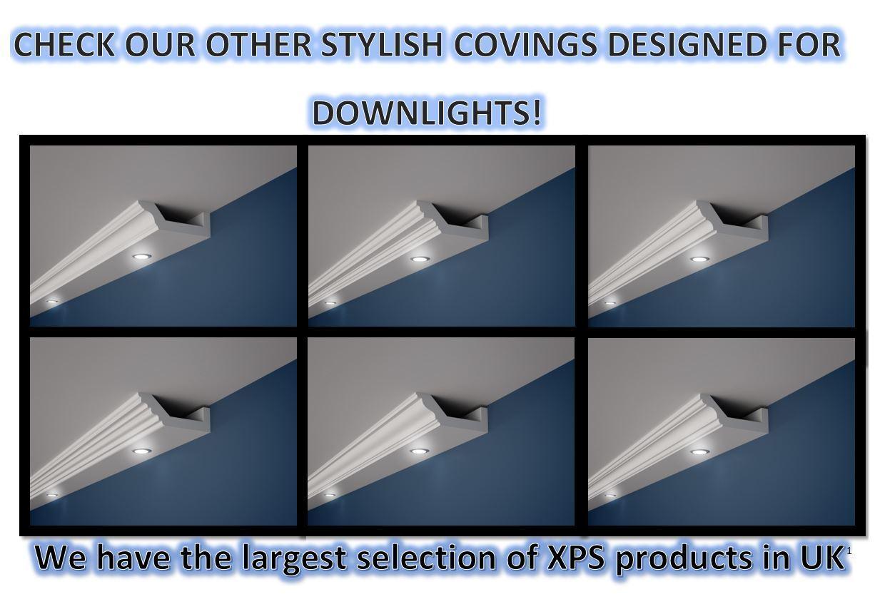 XPS COVING BGX10 LED Lighting cornice molding -=BEST -=BEST -=BEST PRICE=- LARGE GrößeS QUALITY 3fb7d5