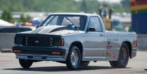 1987 Chevy s-10 drag race