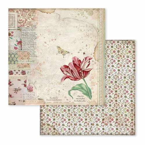 Stamperia Spring Botanic 12 x 12 Paper Pack  Scrapbook Papers