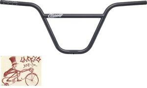 """MISSION COMMAND 2-PIECE 9/"""" RISE CHROME BICYCLE HANDLEBAR"""