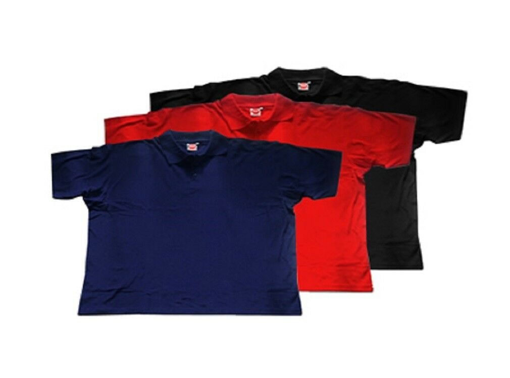 UOMO BASIC POLO PIQUE Multipack in oltre dimensioni di Honeymoon 2xl a 12xl