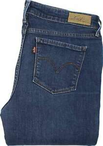 36473 Jeans Stretch Slight Bleu Womens Levi's Jeans et Slim L30 Curve W29 nRqInZ7P