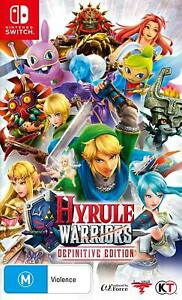 Hyrule Warriors - Definitive Edition (Nintendo Switch) Brand New - Region Free