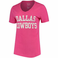 item 1 NFL Dallas Cowboys Women s Pink Coaches T-Shirt d3ea73f12