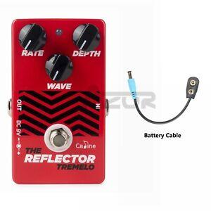 Caline-The-Reflector-Tremolo-CP-62-Guitar-Effect-Pedal-Guitar-Pedal-True-Bypass