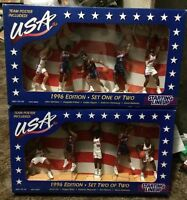 1996 Starting Lineup Usa Dream Team Set Of Two