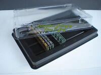Desktop Memory Case Tray Case For Pc Ddr Dram Ram Lot Of 2 5 10 25 Trays -