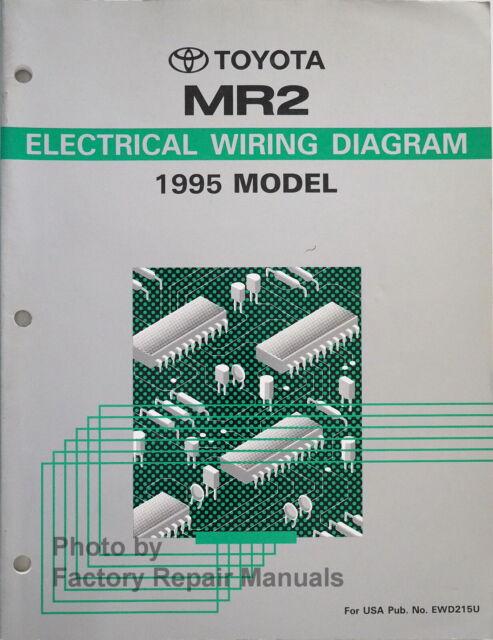 1995 Toyota Mr2 Electrical Wiring Diagrams Original Manual