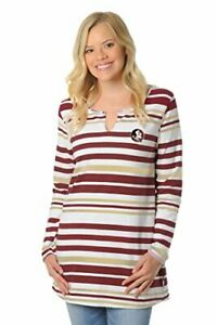 NCAA Womens Stripe Tunic Top
