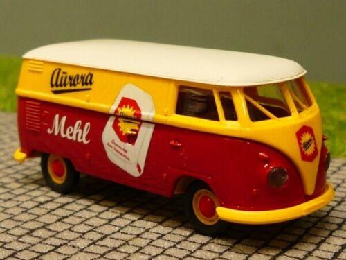 1//87 Brekina # 1221 VW T1 b Aurora Mehl Kasten Sondermodell Reinhardt