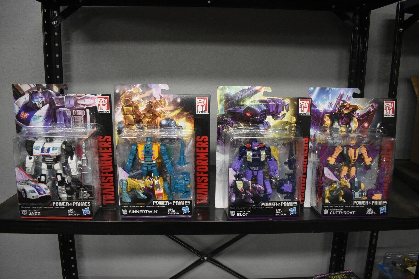 Transformateurs De Puissance des primes Wave 3 Deluxe Figures par Hasbro