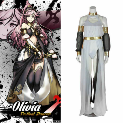 Three Houses Ingrid Halloween Uniform COS Clothing Cosplay Costume Fire Emblem