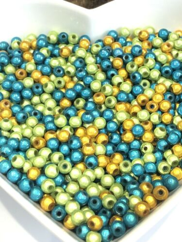 300 x Acrylic Miracle Beads 5mm 'Turtle  Mix' wholesale