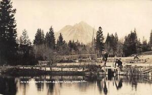 RPPC-Black-Butte-From-Sunfish-Lake-Sisson-California-1914-Vintage-Postcard