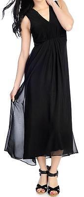 S Kate /& Mallory® Stretch Knit Sleeveless Empire Waist Hi-Lo Dress M NEW