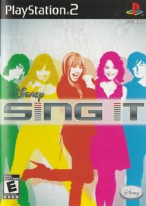 Disney-Sing-It-Playstation-2-Sony-PS2-Game-Complete-In-Case-W-Manual-No-Mic
