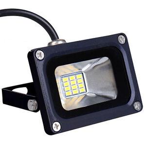 10W-12V-LED-Flutlicht-Strahler-Scheinwerfer-Warmweiss-12-Volt-Aussen-Fluter-Lampe