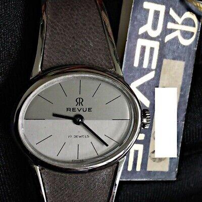 Detalles de NOS NEW Delkar 17 rubis manual cuerda vintage watch reloj women mujer NOS