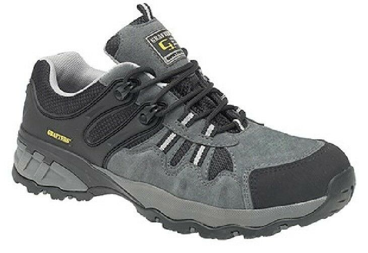Grafters Unisex Safety Non Metallo Completo Composito Trainer shoes grey