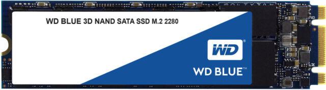 Western Digital SSD WDS100T2B0B 1TB M.2 2280 SATA III 6Gb//s Blue 3D NAND