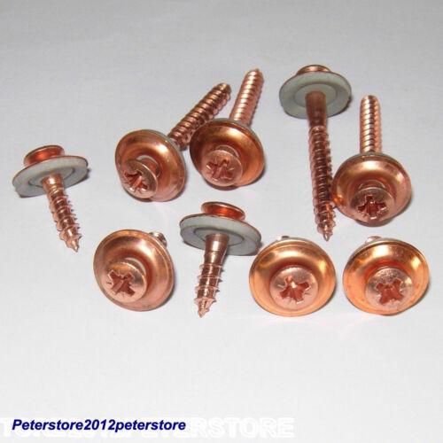 50 Pièces Spengler vis 4,5 mm Acier Inoxydable a2-cu cuivre Croix PZ 2tlg a9067