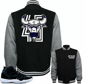 20ee9a27ed1944 Jacket to match Air Jordan Retro 11 Space Jam sneakers