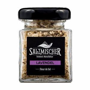 ( 14,14€/ 100g) 35g Fleur De Sel Salzmischung Lavendelsalz Fingersalz Épice Sel De Haute Qualité Et Peu CoûTeux