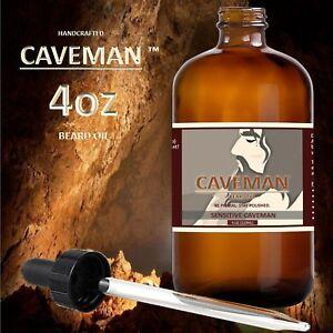 Caveman-Beard-Oil-for-Men-Grooms-Beard-Mustache-boosts-hair-growth-4oz