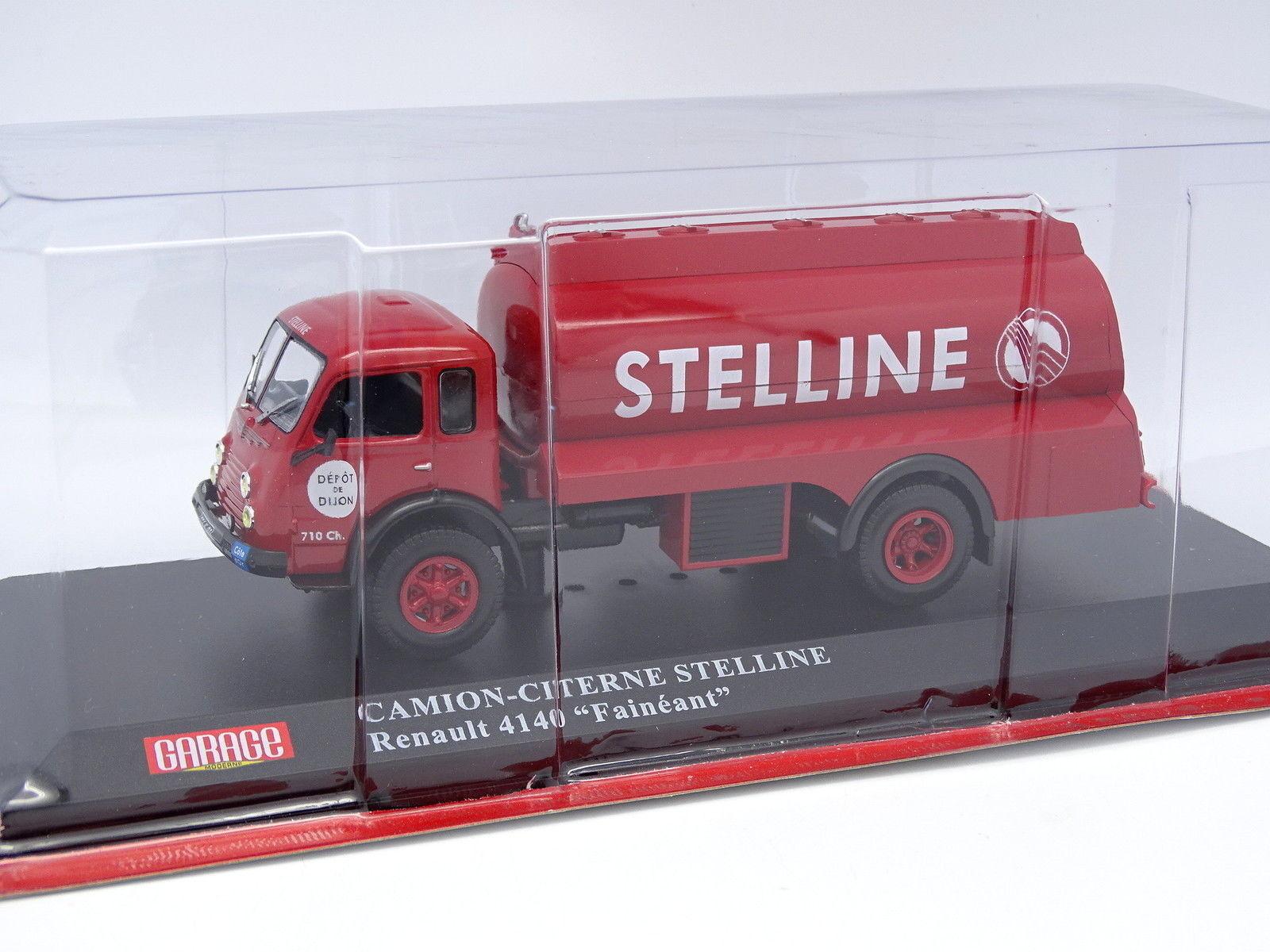Ixo Presse Garage Moderne 1 1 1 43 - Renault 4140 Faineant Citerne Stelline 33f0dd