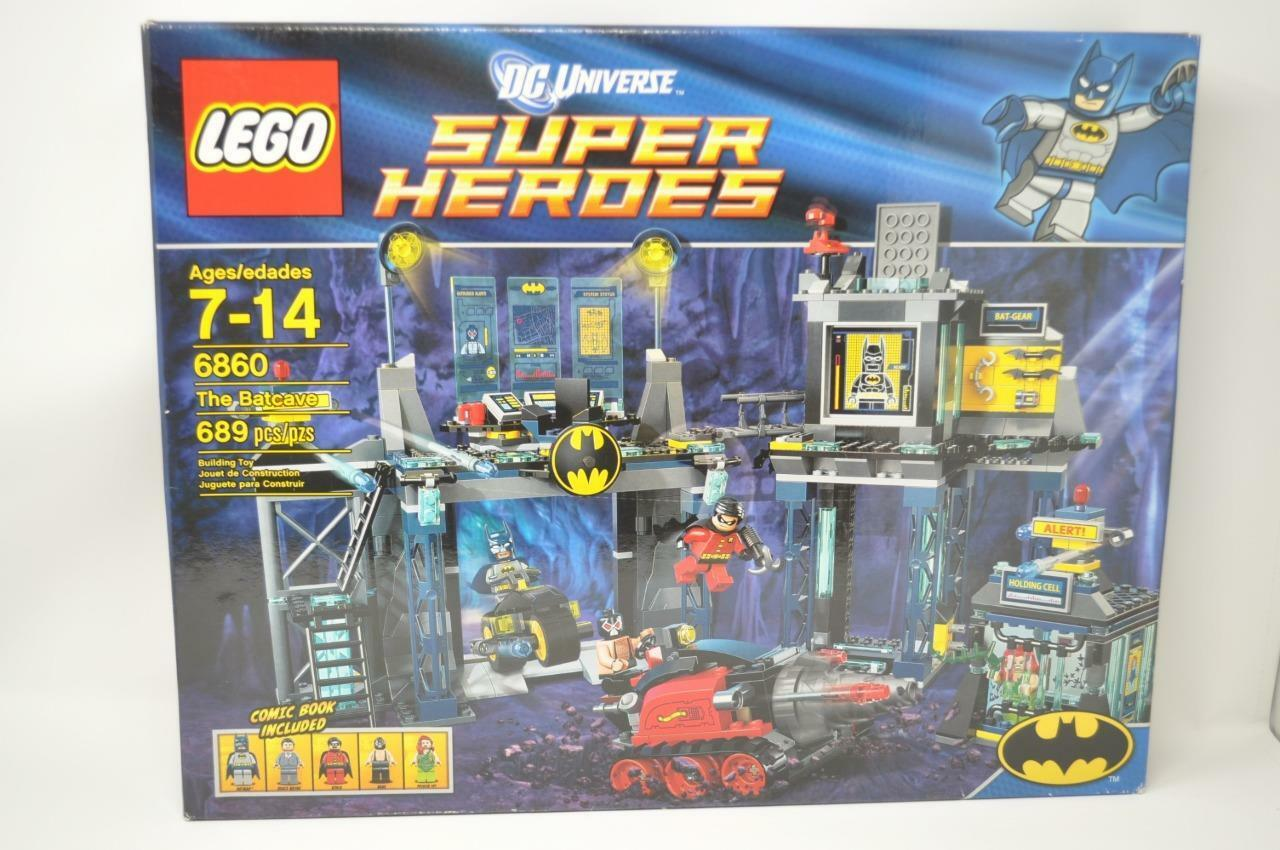 LEGO DC Universe Super Heroes Batman II 6860 The Batcave New In Sealed Box NIB