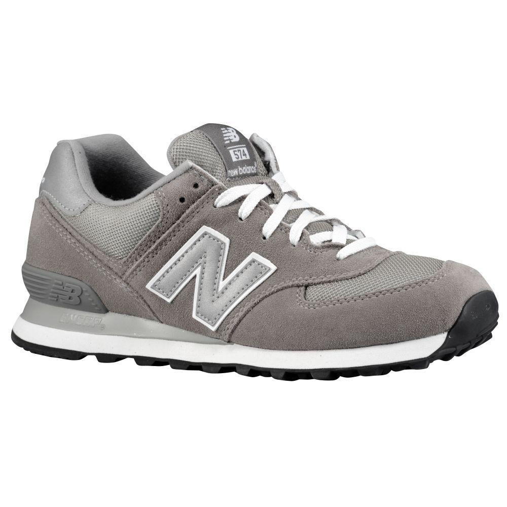 New Balance 574 Grey White Men's Lifestyle & Retro Shoes M574GS Sz13