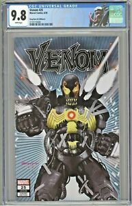 Venom #25 CGC 9.8 Greg Horn Art Edition A 1st Virus Cover Variant