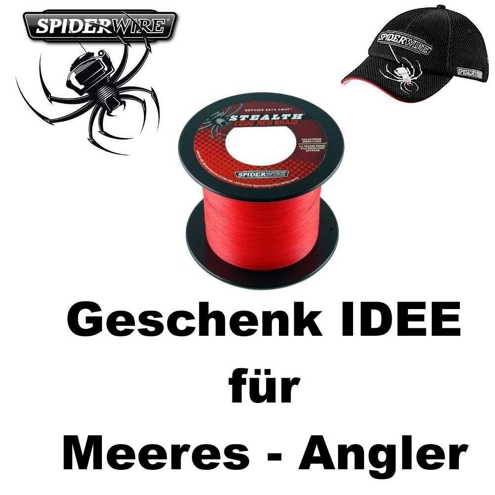 400m 25er SPIDERWIRE + Code ROT + SPIDERWIRE Basecap b10bad