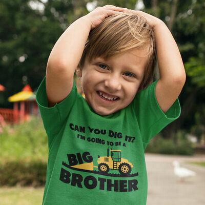 TeeStars Big Brother Gift for Tractor Loving Boys Toddler//Kids Sweatshirts