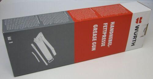 098600 Handhebelfettpresse Grease Gun Würth Fettpresse 400g NEU//OVP Art.-Nr