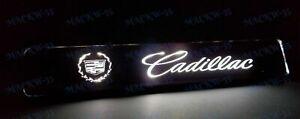 For Cadillac LED Light Car Front Bumper Grille Emblem Luminescent Badge Sticker