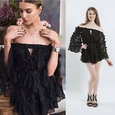 0bf1b4bf078 Alice Mccall Past Time Paradise Black Playsuit Try Code Pull5 For 5% Off