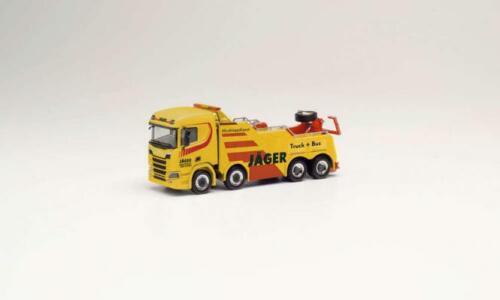 Herpa camiones scania CS 20 EMPL Wrecker Bison cazador Gersthofen 312035