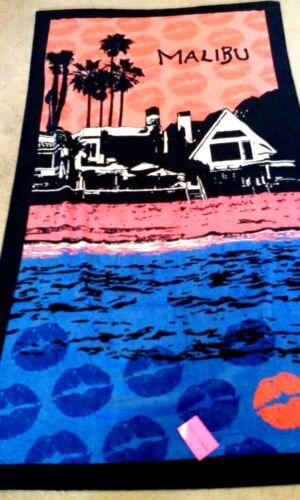 Betsey Johnson Malibu Large Beach Towel NWT