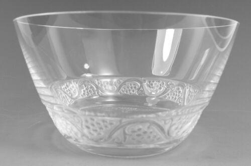 LALIQUE Crystal - PHALSBOURG Design - Finger Bowl Glass / Glasses - 6 cm