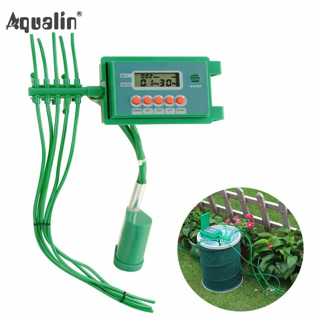 Pump Drip Irrigations Watering Kits System Sprinkler With Smart Water Controller