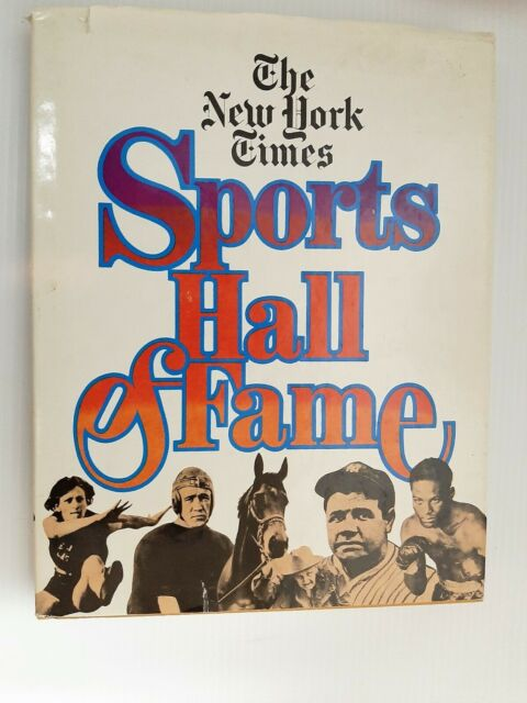 The New York Times Sports Hall of Fame Intro by Gerald Eskenazi Arno Press 1981